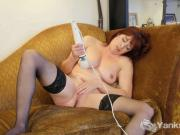 Redhead Odile Toying Her Twat
