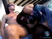 Rocco by giving the roughest fuck she can give