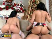 BANGBROS - Ass Parade Xmas Special with Abella Anderson & Rebeca Linares