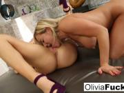 Olivia Austin and Nicole Aniston have some lesbian fun