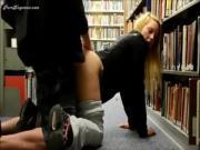 Big Ass Blonde Library POV