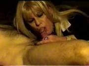 Masculine mature Woman blows tiny Wanky
