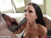 Lexington Steele stuffs Petite White Slut
