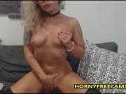 Cute Nerdy Blonde Teen Has Perfect Big Bubble Butt