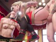 Bad Girls Get Punished in BDSM Threesome