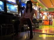 Jav Teen Reina Tsukimoto Teases In Girl Kini Then Flashes In Public