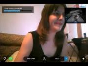 Reacciones de nenas al ver mi polla en la web cam. 3