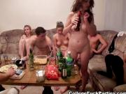 Students staged an orgy at the party