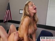 Hot Blonde Step Mom Nicole Aniston Works Teacher