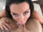 EvilAngel Veronica Avluv Ball Suck and Gape Fuck
