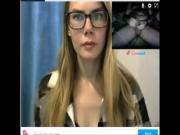 Reacciones de nenas al ver mi polla en la web cam. 21