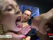 Innocent Young Blonde Gets Her Holes Filled