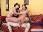 Gorgeous Katrina Jade and Kayla West fucking