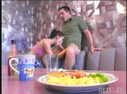 Sucking and fucking at the diner