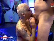 Busty Tattooed Babe Mila Milan first Monster Cock - German Goo Girls