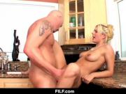 FILF - Kitchen Sex with My Aunt Kodi Gambly