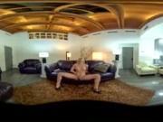VR 360 Stereoscopic - Aubrey Gold masturbates for your enjoyment