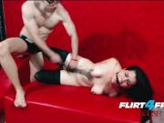 Flirt4Free Fetish - Nicolas Dominates Adriana While Bound and Gagged