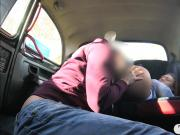 Amateur hottie gets railed by pervert driver in the cab