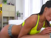 Hot babe Alexa Tomas getting fucked by their hunk cheerleader