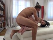 22 yr old Russian Nikki Stills analyzed by pervert Rocco