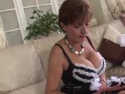 Unfaithful english mature gill ellis shows her massive tits