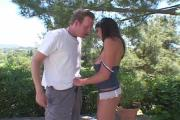 Kinky Chick Takes In 2 Packages