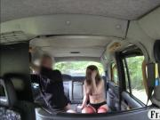 Amateur babe gets boned the taxi driver for a free fare