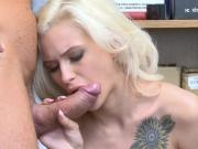 LP officer stripsearches Kiara and then fucks her hard