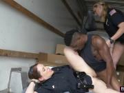 Black stud forced blowjob cops riding missionary