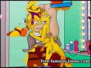 Simpsons hentai funny parody