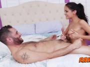 HARDCORE dream TIT FUCK with BIG DICKED hairy soldier