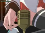 Gorgeous anime slut gets cunt filled