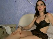 Sexy tranny Cintia Simoes gets banged in her juicy asshole