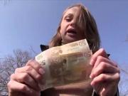 Ivana Sugar flashing a stranger for a couple hundred Euros