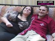BBW Brunette Gal Is A Cocksucking Expert