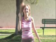 Babe Flashing In Public
