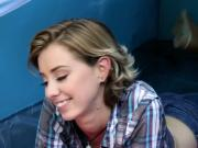 Cute innocent blonde teen Backwoods Bartering