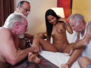 Sweet hot chick Nikki Kay getting fucked for large dick