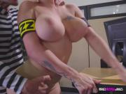 Blonde Vixen Peta Jensen Gets Her Pussy Drilled