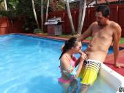 Russian milf teen bathroom Swimming In Semen