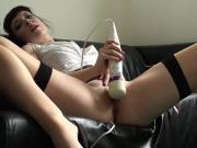 Tasty slave slut gets punished hard by her horny fucker