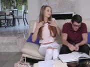 companion's teen gets pregnant and brunette teen step The Sibling