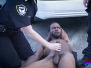 Two hot cops riding monster dick