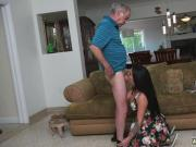 Teen footjob first time Frannkie's a rapid learner!