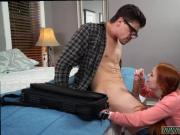 partner's teen in law seduces dad Dolly Little is in need of some