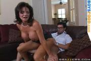 Busty Milf Riding Cock