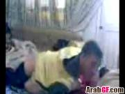 Passionate Arab couple spends day in bedroom having intense sex