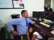 Latina shows off Bring Your Daughter to Work Day