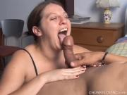 Beautiful Girlfriend Tongues Hard On
